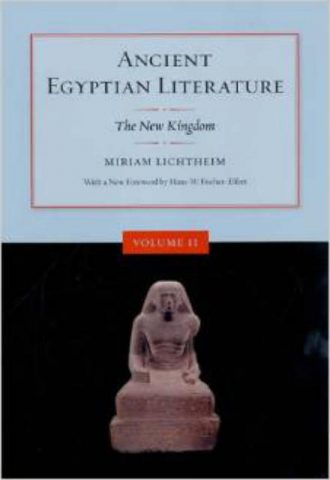 Ancient Egyptian Literature Volume II