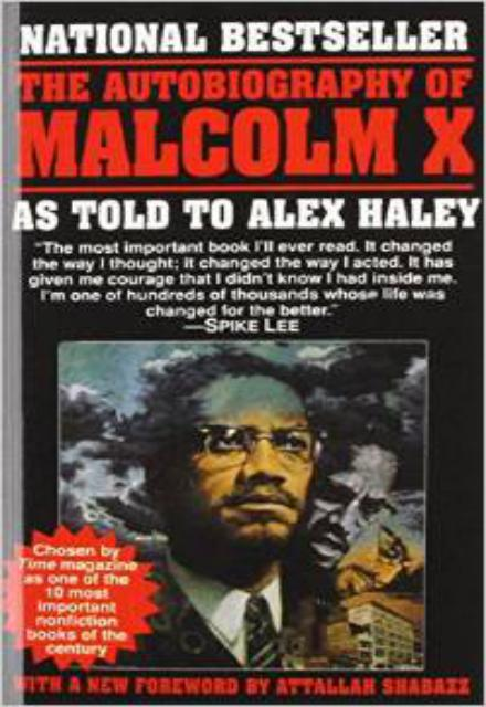 Image result for the autobiography of malcolm x cover