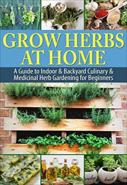 Grow Herbs at Home A Guide To Indoor & Backyard Culinary & Medicinal Herb Gardening for Beginners