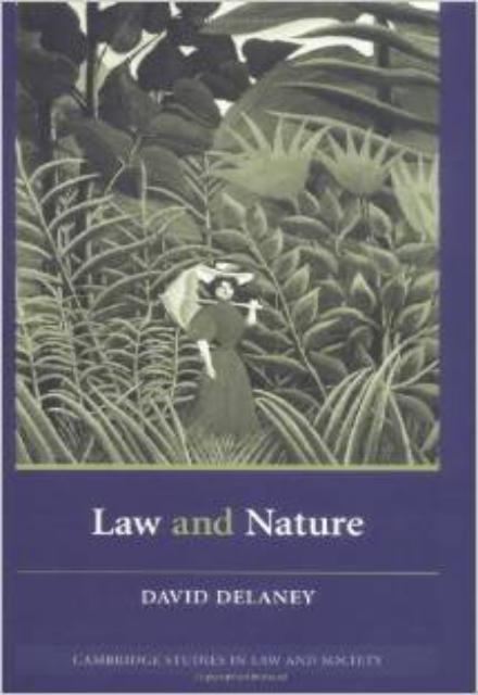 Law and Nature (Cambridge Studies in Law and Society)