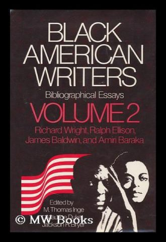 The Afrikan Library_Black American Writers Bibliographical Essays- Volume 2 Richard Wright, Ralph Ellison, James Baldwin, and Amiri Baraka_440x640 - B Covers - 17630