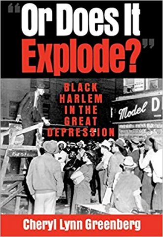 The Afrikan Library_Or Does It Explode?- Black Harlem in the Great Depression _440x640 - O Covers - 17637