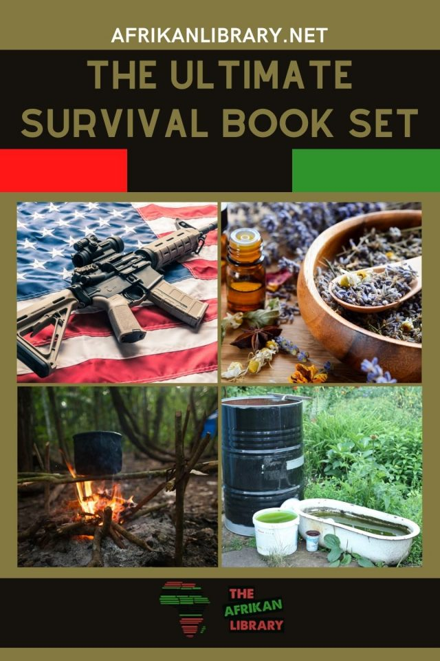 ultimate survival set - best books on survival